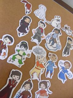 Avatar: The Last Airbender & Legend of Korra Stickers