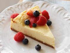 Mascarpone Cheesecake with Almond Crust Recipe   Giada De Laurentiis   Food Network