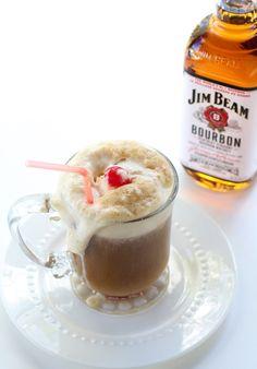{ bourbon root beer float } **add 2 oz vanilla paste