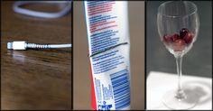 Hvordan klemme ut siste rest av tannpasten og seks andre geniale tips Red Wine, Alcoholic Drinks, Glass, Tips, Alcoholic Beverages, Drinkware, Red Wines, Liquor, Yuri