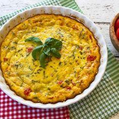 Baked Caprese Frittata With Quinoa Recipe - ZipList