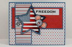 My Noteworthy Cards: SNSDC60 Stars and Stripes
