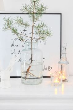 45 Modern and Minimalist Christmas Decor Ideas - decoration Last Christmas, Nordic Christmas, Modern Christmas, Simple Christmas, Christmas Holidays, Coastal Christmas, Christmas Christmas, Scandinavian Christmas Decorations, Christmas Tree Decorations