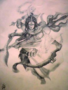 Shiv- Hindu God Krishna Hindu, Shiva Shakti, Ancient Myths, Ancient Art, Indian Gods, Indian Art, Shiv Tandav, Om Namah Shivay, Lord Of The Dance