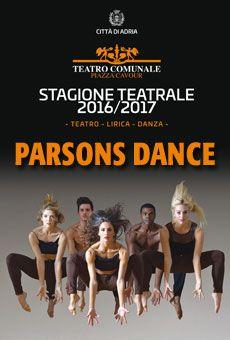 Parsons Dance - la più celebre compagnia americana in tour in Italia. Tutti i tuoi eventi su ViaVaiNet, il portale degli eventi più consultato per il tempo libero nella provincia di Rovigo e nella Bassa Padovana