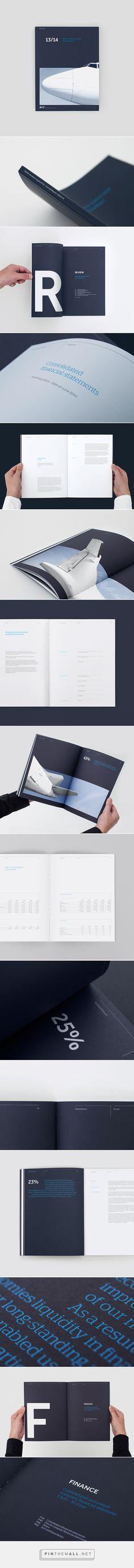 NAC - Annual Report on Behance - created via http://pinthemall.net