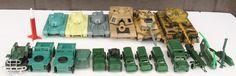 Mixed Lot 19 Toy Military Tanks Vehicles Jeeps Helecopter Lanard Unimax | eBay