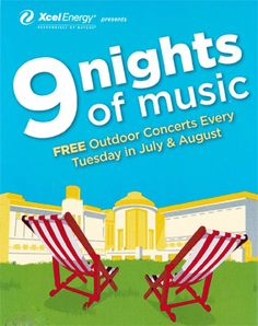 Nine Nights of Music: Outdoor music, lawn picnics, yes. Dance Music, Live Music, Popular Sites, The Beautiful Country, Family Outing, Summer Events, How To Speak Spanish, Twin Cities, Upcoming Events