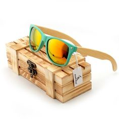 217e41e419 Men Bamboo Wood Sunglasses  Men Fashion Sunglasses With Wooden Case  Gift  For Him