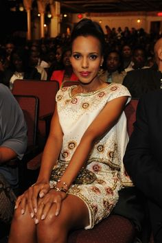 Kerry Washington at the Black Girl Rock! 2012 event at The Loews Paradise Theater in New York City