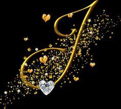J Gold Diamond Script Cool Alphabet Letters, Letter Art, Love Letters, J Letter Images, J Calligraphy, Lettering Design, Hand Lettering, Stylish Letters, Shiva Tattoo Design