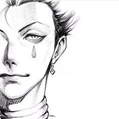 Hisoka Hunter x Hunter - anime Hisoka, Leorio Hxh, Hunter X Hunter, Hunter Anime, Hunter Fans, Manga Drawing, Drawing Sketches, Drawing Faces, Art Drawings