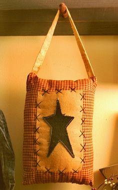 Inspiration for pillow...Star hanger
