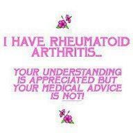 ...because I get tired of people's medical advice/criticism.