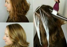 BEFORE/AFTER PHOTOS:  ......... The HOT new salon hair color technique is called Starlight Balayage....... see photos below >>>
