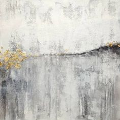 """Saatchi Art Artist Laura Spring; Painting, """"White and Gold"""" #art"""