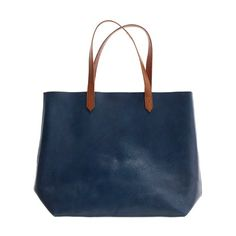 the leather transport tote  $168.00