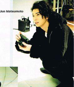 Our most nice photographer ! Jun Matsumoto, Shun Oguri, Japanese Eyes, Ninomiya Kazunari, Types Of Guys, My Eyes, Eye Candy, Poses, Actors