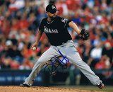 Ricky Nolasco Miami Marlins Baseballs