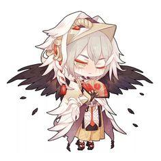 Ootengu Kawaii Chibi, Cute Chibi, Anime Chibi, Chibi Characters, Cute Characters, Hot Anime Boy, Anime Guys, Manga Art, Anime Art