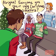 Voltron Ugly Sweater Party 1/6