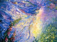 Fairy Wallpaper | Mystical Fantasy Paintings of Josephine Wall 1024*768 NO.15 Wallpaper