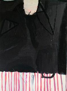 Sarah Boyts Yoder - Black Candy Stripe
