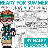 The last few weeks of school can be EXHAUSTING!! I am always looking for activities to keep my little ones engaged, and still learning!! This packet is full of no-prep activities that your babies will love doing while you finish up testing, cleaning, or anything else!!