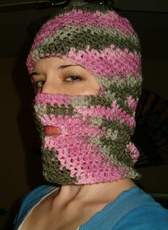 Ski Mask Crochet Pattern « The Yarn Box The Yarn Box