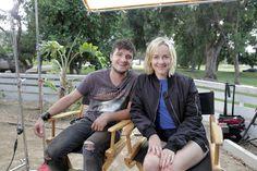 The Hunger Games Cast Mini-Reunion - Josh Hutcherson & Jena Malone Film 'TheRusted'