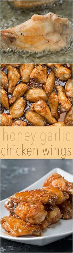 You'll Definitely Want To Dive Into A Bucket Of These Honey Garlic Chicken Wings
