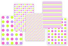 Candy Color Polka Dots | Fun Stuff To Do