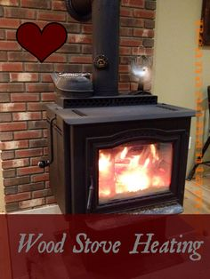 Heating with a wood stove, during Vermont winters. How we heat our home off the grid with a woodstove. Wood heat makes for a self sufficient homestead and a lot of it is DIY. Getting ready for winter means having enough wood split and stacked, and a good woodpile.