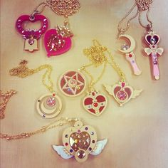 Rosa Blau Ohrring Sailor Moon Stern Schlüssel Anhänger Ohrschmuck Ohranhänger