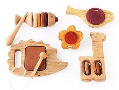 Soopsori's 5 Musical Instruments set - I love the hedgehog!