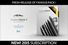 RM Creative Stylus II 2 in 1 by Roman Melentyev on Creative Market
