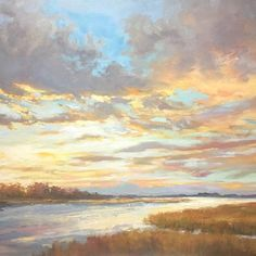 Photo To Oil Painting Canvas Photo To Oil Painting, Lake Painting, Summer Painting, Oil Painting Abstract, Painting Canvas, Watercolor Landscape, Abstract Landscape, Landscape Paintings, Am Meer