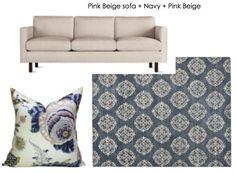 The Easy Way to Decorate Around a Tan (Pink Beige) Sofa | Maria Killam | True…