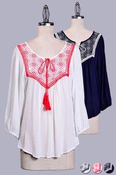 About Stylez > TOPS- TRENDY > #1098282T − LAShowroom.com