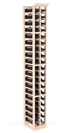 "Five Star Series: 2 Column 38 Bottle Standard Wine Cellar Rack in Pine with White Wash Stain by Wine Racks America®. $195.72. Made from eco-friendly wood sources in sustainable forests. 3 ¾"" wide cubicles for bottle access.. Money Back Guarantee + Lifetime Warranty. 11/16"" wood thickness. Designed for 750ml wine bottles. Some assembly required .. Choose From either Pine, Redwood, or Mahogany along with optional Industry Leading Quality Eco-Friendly Stains Paired with ..."