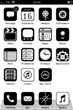 Got a geeky theme for iPhone :)
