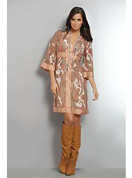 Love this dress! (not the boots though!)