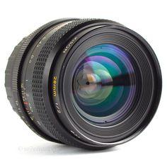 Kiron 28mm 2.0 MC Wide Angle Lens Pentax K Fit DSLR Adaptable EOS MFT BMCC