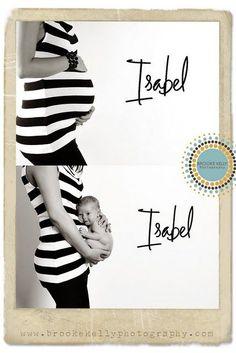 Bauch und später Baby