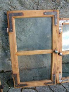 Alte Fenster zur Deko Fensterrahmen Pinterest
