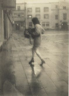 Charming eccentric or tolerated local boogyman? The townspeople of Kyjov in Czech Republic could never quite decide. Miroslav Tichýtook nearly a hundred photographs a day with his homemade camera, wandering around the streets of his hometown, often spotted at bus stops, the main square, the park an