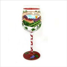 Top Shelf Napa Valley Wine Glass by CKK Home Décor. $23.67. Sip your favorite wine from this glass and be reminded of the beautiful Napa Valley.. Makes a perfect gift. When Top Shelf is around memories are sure to be made. 2.5-inch by 9-inch by 3-inch design. Holds 15-ounce of your favorite wine. Live with a twist. Shaking things up and expressing yourself in a carefree, fun way. Whether it's for a night out with the girls, or football with the guys, our hand pai...