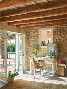 Refurbished old rustic barn by Gemma Matoes