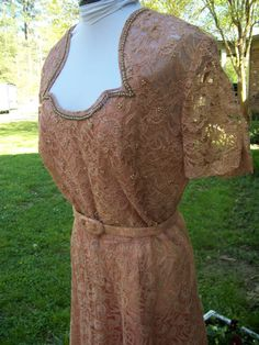 Hey, I found this really awesome Etsy listing at https://www.etsy.com/listing/96443397/vintage-pink-lace-dress
