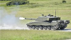 The newly amalgamated Royal Tank Regiment fires the Challenger 2 Main Battle Tank on Castlemartin Ranges for the first time since its reformation.